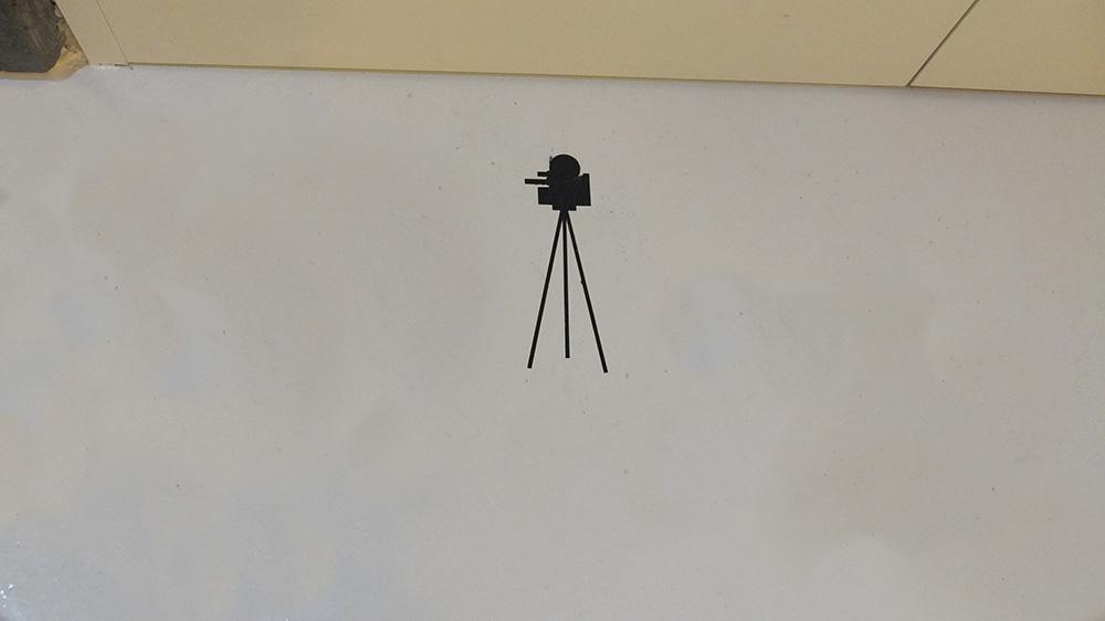 Señalética sala video